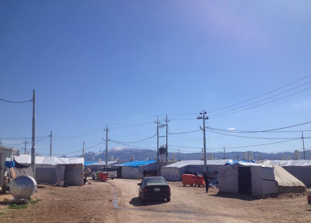 Dawodiya IDP camp, Dohuk governorate.